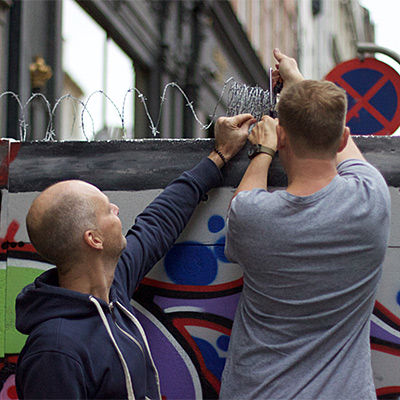 New wall cuts Copenhagen in two