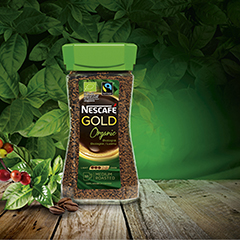 Design and global launch of Organic Nescafé