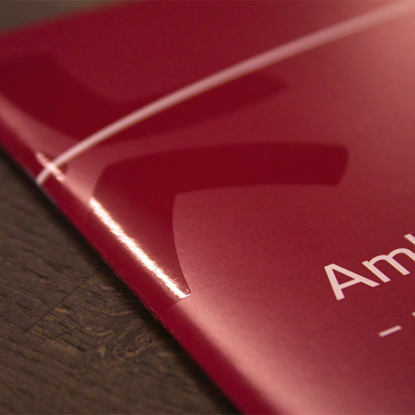 Global corporate identity & product brochures